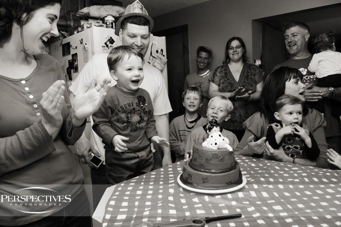 James' 2nd Birthday