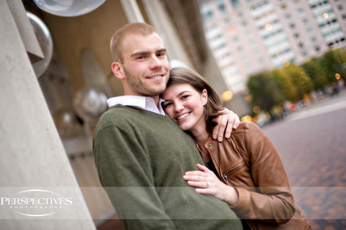 Meghan & George - Boston Engagement Session