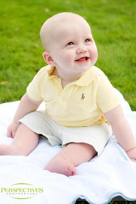 Boston Baby Photographer - Sean 6 Months